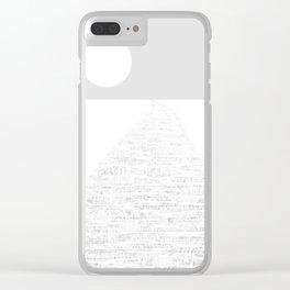WALK Clear iPhone Case