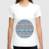 knitting T-shirts featuring KNITTING #4 by NADEZDA FAVA