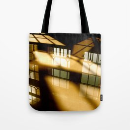 REFLECTIONS IN YELLOW Tote Bag