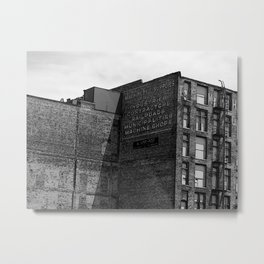 Industrial Ad Renditions Metal Print