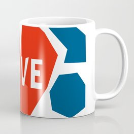 Love In A Heart Coffee Mug