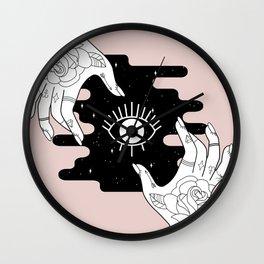 Rosy Open Wall Clock