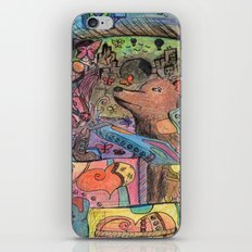 block bear iPhone & iPod Skin