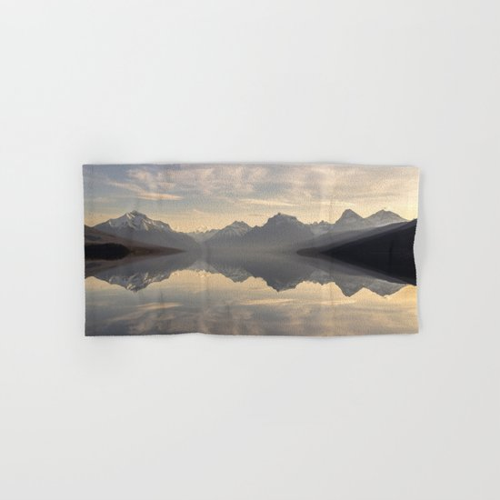 Landscape Reflections #mountain Hand & Bath Towel