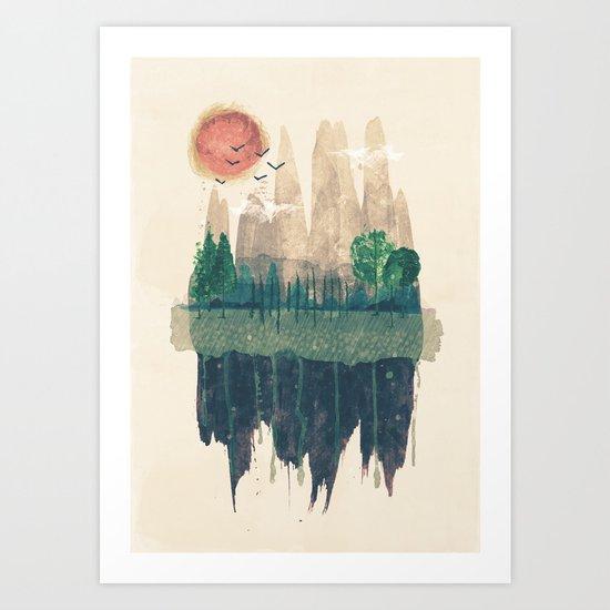 Hinterland Art Print