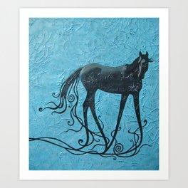 Domaine du centaure Art Print