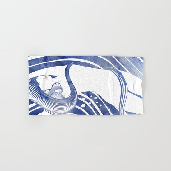 Water Nymph LXI Hand & Bath Towel