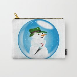 Snowman Ball Carry-All Pouch