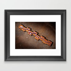 Energy Snake Framed Art Print