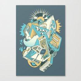 Stereochromatic Canvas Print
