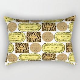 Biscuit Bricks Rectangular Pillow