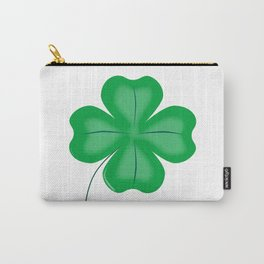 Lucky Four Leaf Shamrock Carry-All Pouch