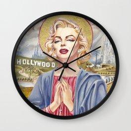Marilyn Our Lady of Sorrow Wall Clock