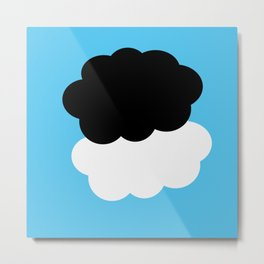 The Fault in our Stars  °  clouds Metal Print