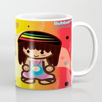 rasta Mugs featuring Rasta Bubbahs by I love Bubbah