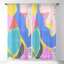 Unbridled Enthusiasm Sheer Curtain