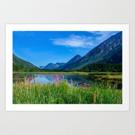 God's_Country 4129 - Alaska Art Print