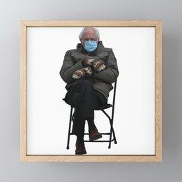 Bernie Sanders Sitting Meme  Framed Mini Art Print