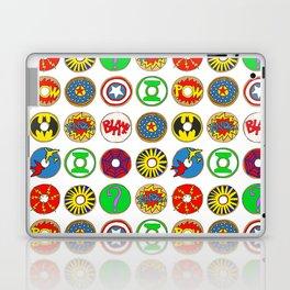 Superhero Donuts Laptop & iPad Skin