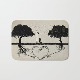 together for love Bath Mat