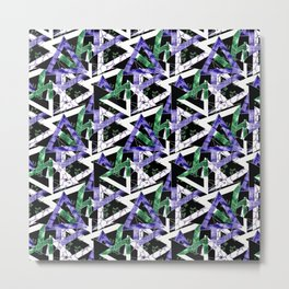 Abstract geometric pattern  8 Metal Print