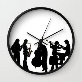 Jazz group Wall Clock