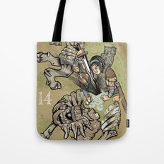 fourteenth colossus Tote Bag