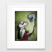 muppet Framed Art Prints featuring Muppet Parasite by Dandy Jon