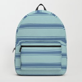 Cobalt blue french striped Backpack