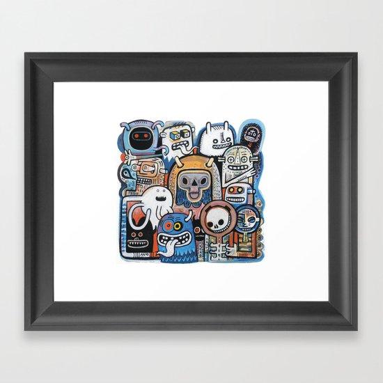 Instant drôlatique  Framed Art Print