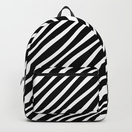 FAUX ZEBRA BOLD ANIMAL PRINT Backpack