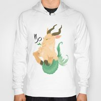 capricorn Hoodies featuring Capricorn by Rejdzy