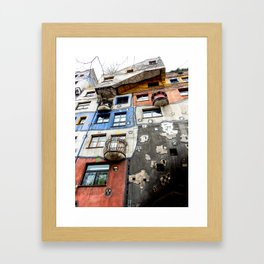 Life Imitates Art Framed Art Print