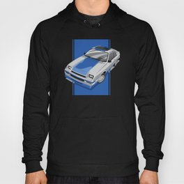 1983S L-Body Charger Silver Hoody