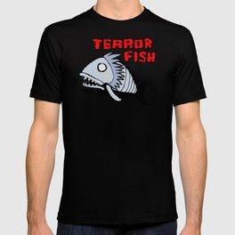 Terror fish T-shirt