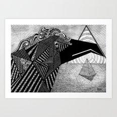 Soul protector Art Print