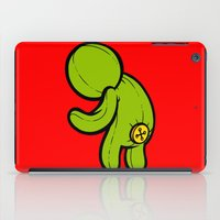 butt iPad Cases featuring Butt-On by Artistic Dyslexia