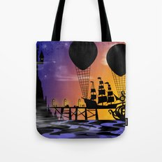 Here be monsters Tote Bag