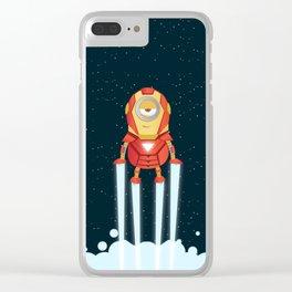 MinionIronman Clear iPhone Case