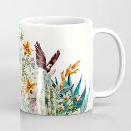 Blooming in the cactus Coffee Mug