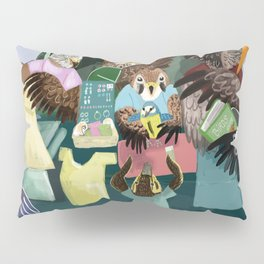 A day in the market Pillow Sham