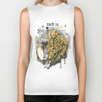death Biker Tanks featuring Death by Tshirt-Factory