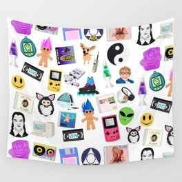 Bring Back the 90's Wall Tapestry