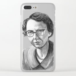 Flannery O'Connor Clear iPhone Case