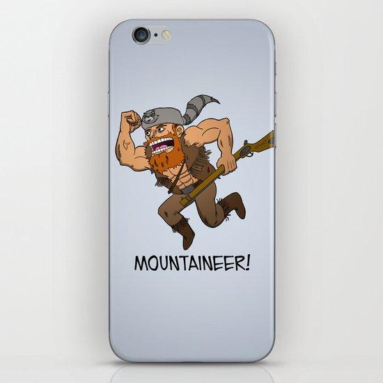 Mountaineer!  iPhone & iPod Skin