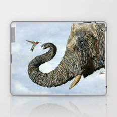 Elephant Cyril And Hummingbird Ayre Laptop & iPad Skin