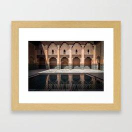 Ben Youssef Medersa Framed Art Print