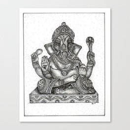 Remover of Obstacles Canvas Print