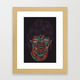 Lionel Messi Framed Art Print