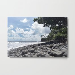 At The Shore Metal Print